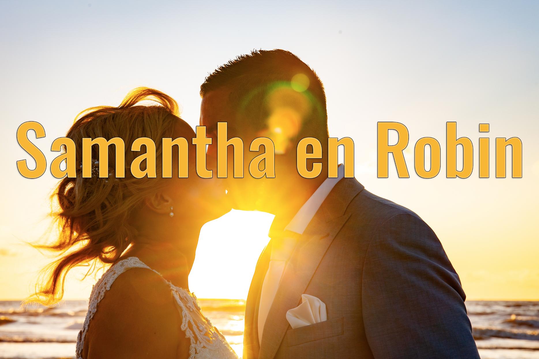 Samantha en Robin