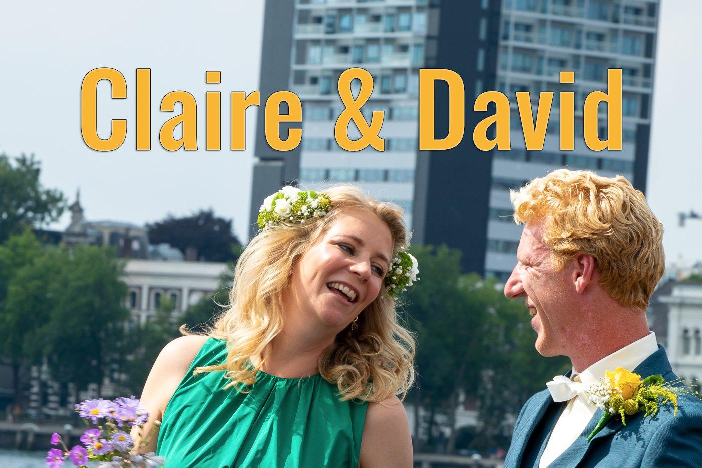 Claire en David