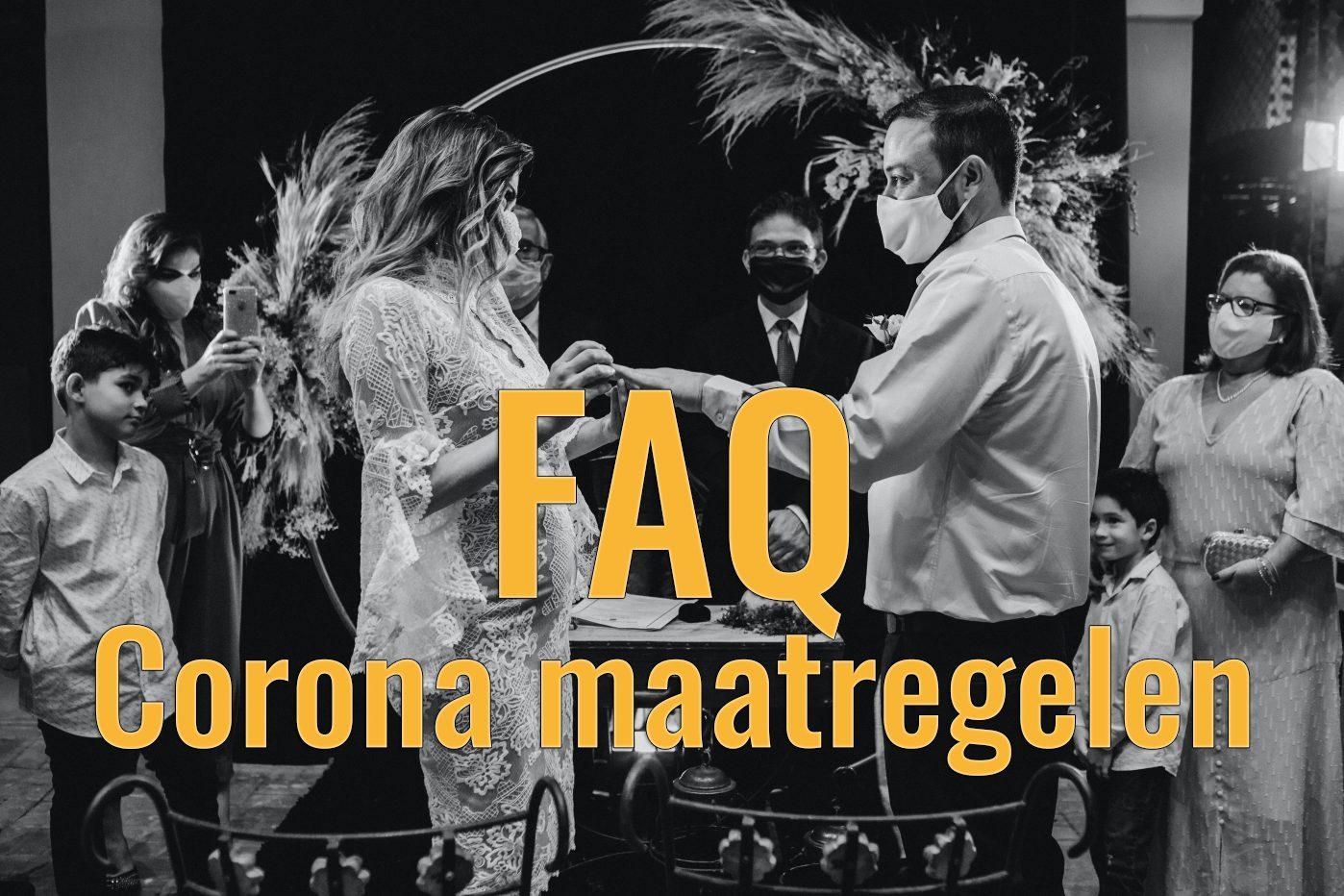 FAQ – Corona maatregelen
