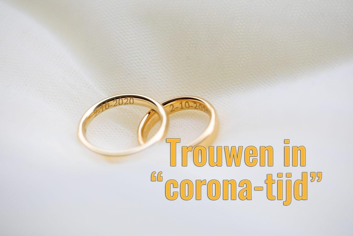 Trouwen in Corona-tijd