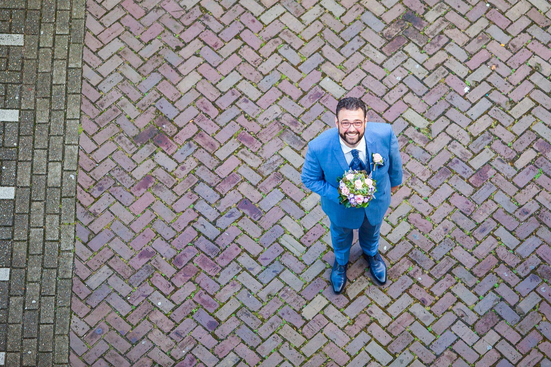 Bruidsfotografie First Look Shoot